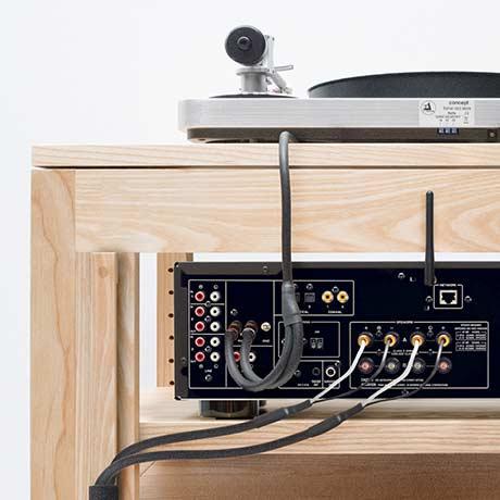 Audio Rack Cable Management