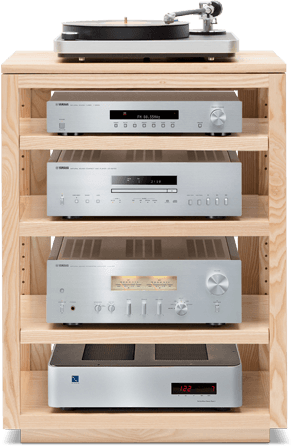 Dovetail Audio Rack Finishes